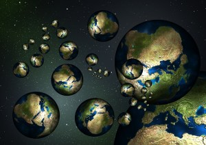 A whole Multiverse of Earths.