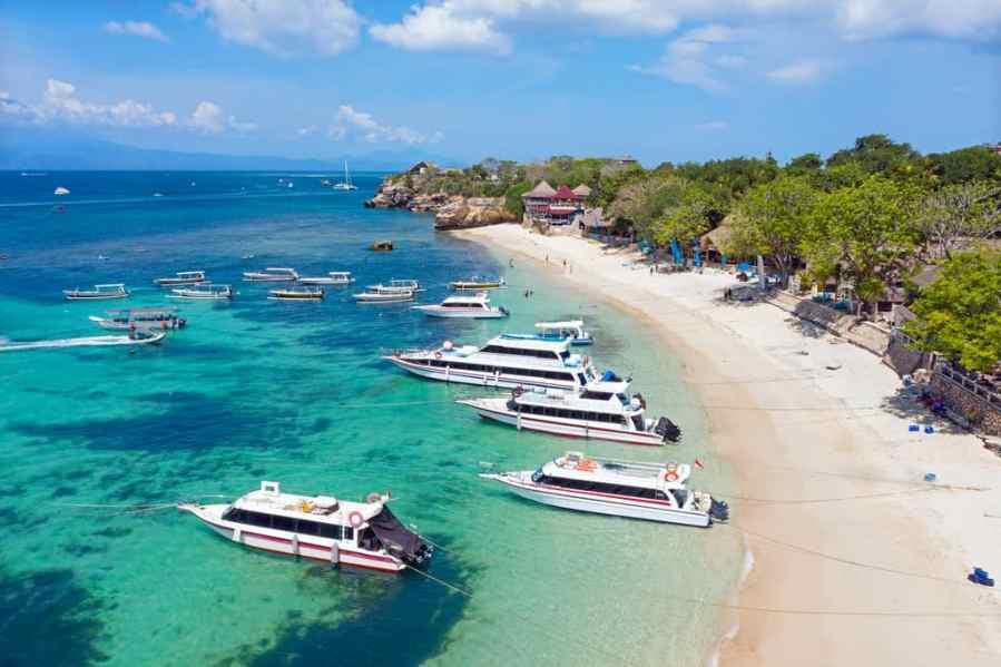 Mushroom Bay beach, Nusa Lembongan