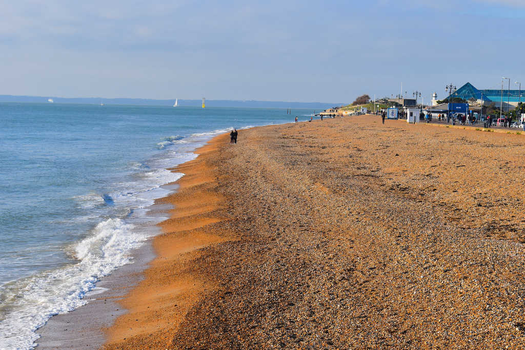 Southsea beach UK