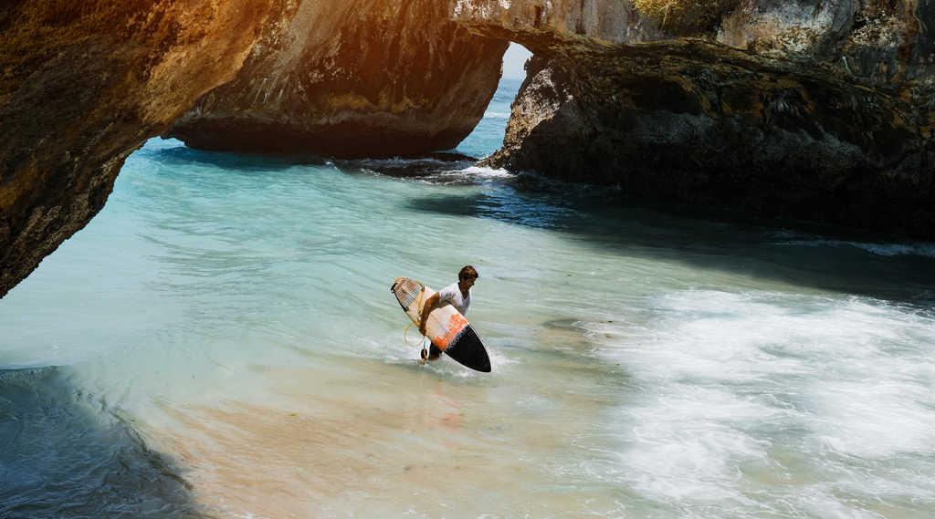 suluban beach, uluwatu beach