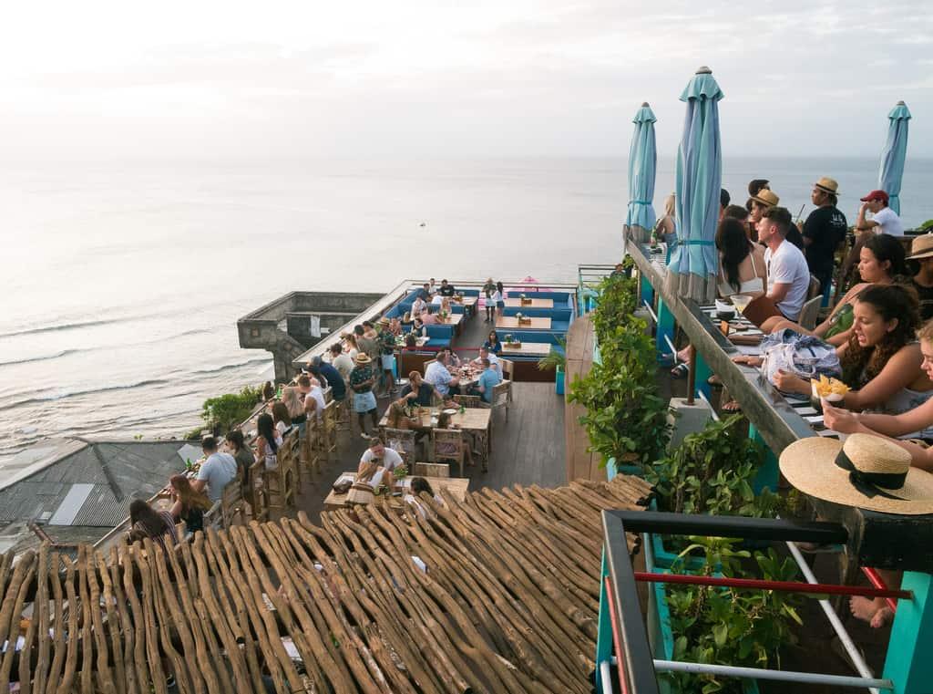 Single Fin Beach Club, Uluwatu, Bali