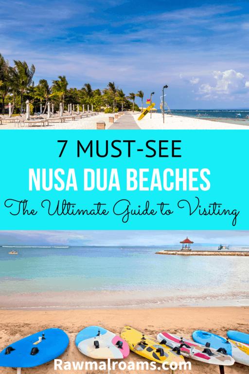 This is a comprehensive guide to seven best Nusa Dua beaches, Nusa Dua water sports, Nusa Dua things to do, Nusa Dua hotels #Nusadua #nusaduabeaches #nusaduabalibeaches