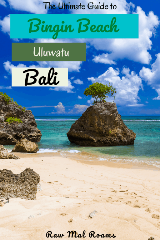 Looking for an off beaten track beach in Bali? Visit Bingin Beach! This post will give you all you need to know about Bingin. #balibeaches #uluwatubeaches #binginbeach #binginbeachbali #binginbeachbeachuluwatu #indonesia