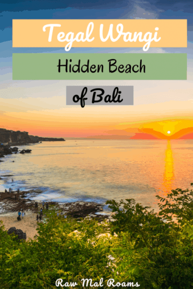 The ultimate guide to visiting hidden beach in Bali - Tegal Wangi #tegalwangi #tegalwangibeach #tegalwangibeachbali