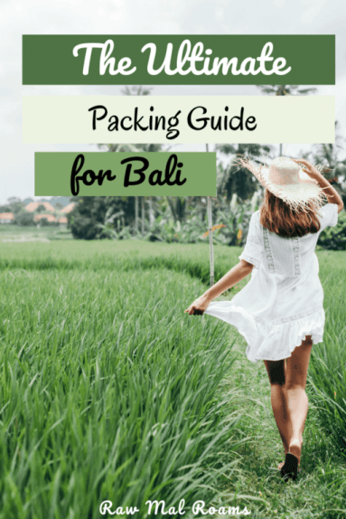 Bali Packing Checklist for women | What to wear in Bali | #balipackinglist #balipackingguide #balipackingchecklist
