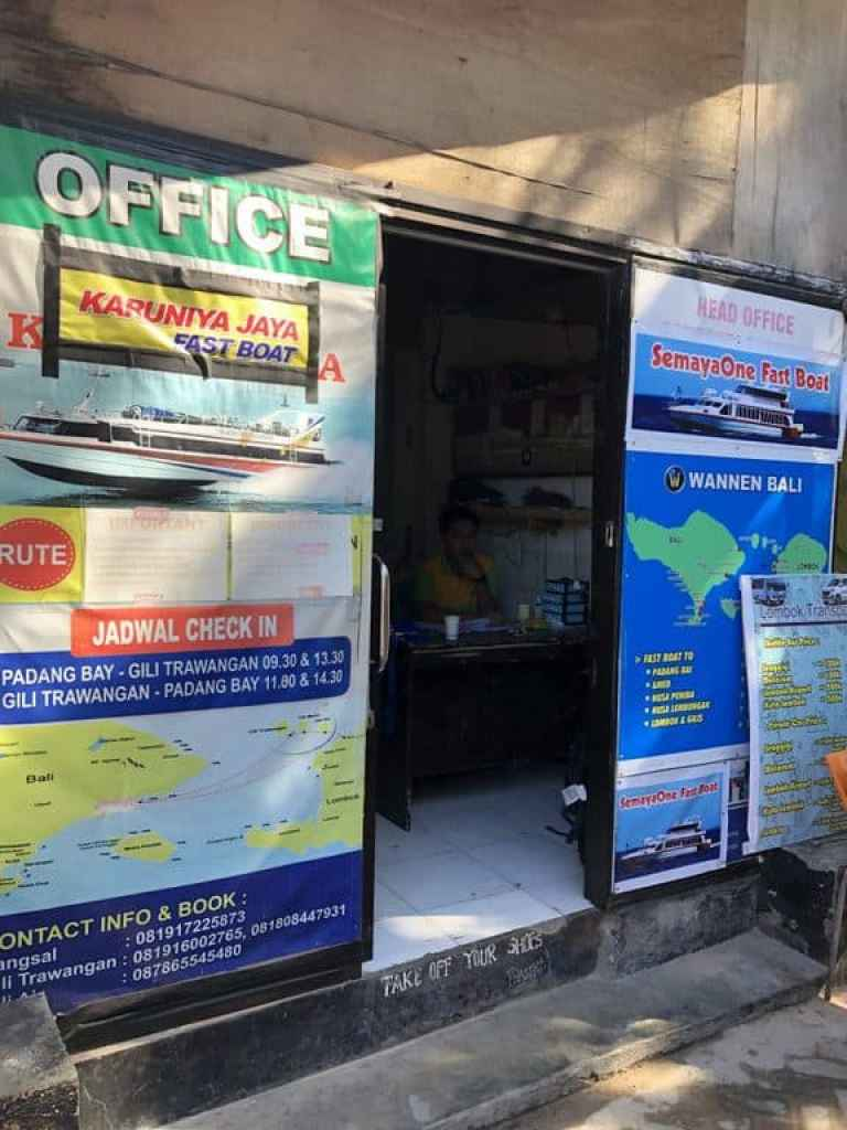 Tourist Ticket Office, Gili T