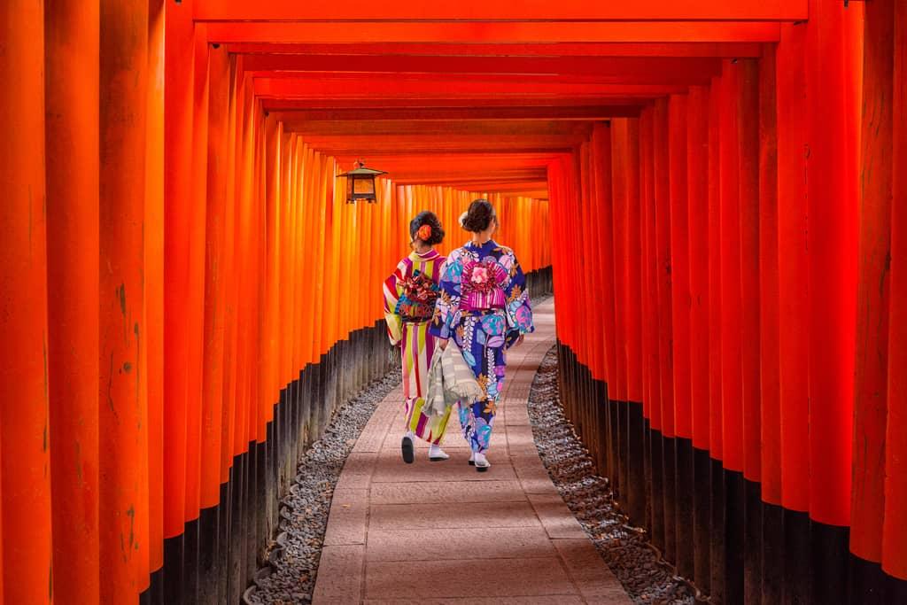 kyoto, fushimi inari shrine, Japan, most beautiful city in asia