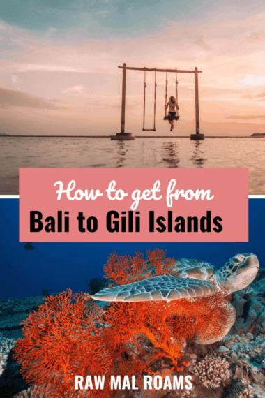 Getting to Gili T, Gili Meno Gili Air | #indonesia #bali #giliislands #balitravel Best ways to travel to the Gili Islands | tips on getting cheapest boat tickets