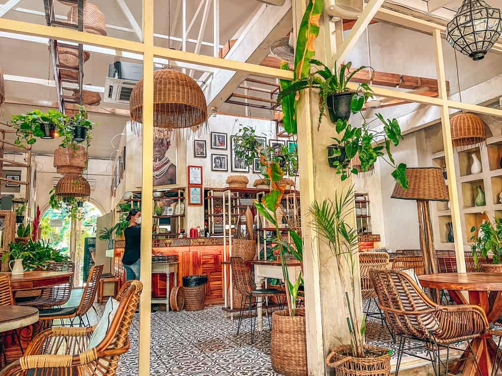 canggu cafes - milu by nook