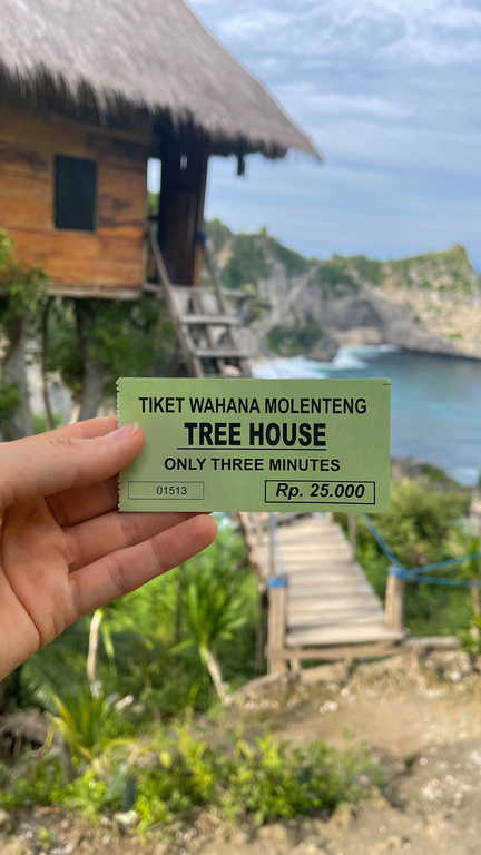 Photography ticket at Rumah Pohon