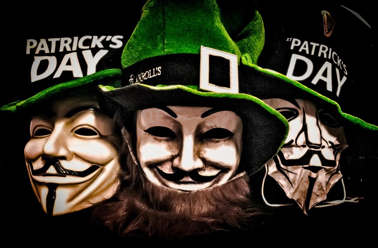 Affiche réalisée pour la Saint Patrick