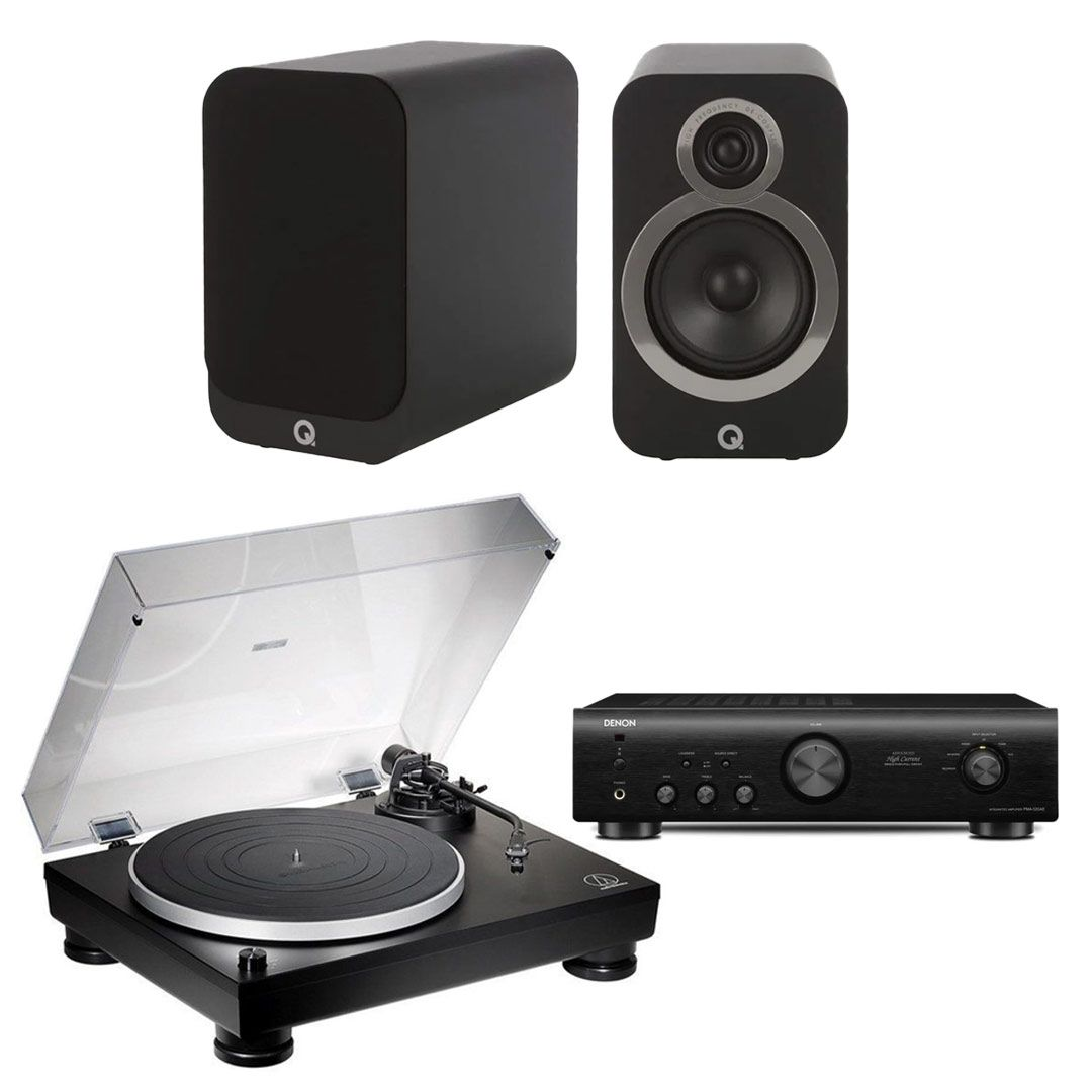 Turntable Package: Audio Technica AT-LP5X / Q Acoustics
