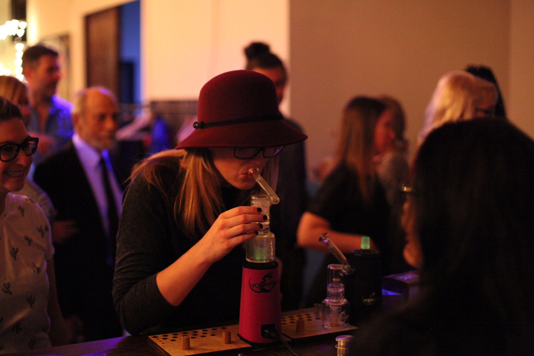 Swanky SECRET Cannabis Parties: Coming to a City Near You!
