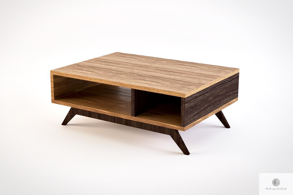 modern oak coffee table to living room cleo