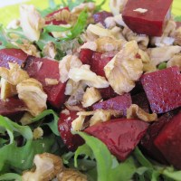 Walnut and Beetroot Salad