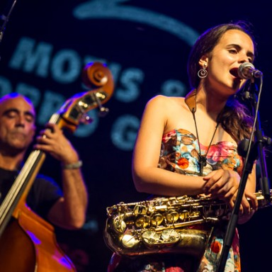 Eivissa Jazz 2015. Andrea Molis y Joan Chamorro Group