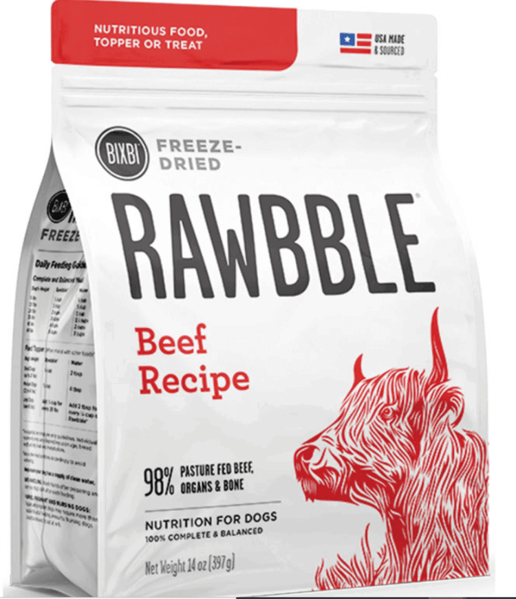Rawbble Freeze Dried Food