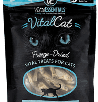 Vital Essentials Cat Freeze Dried Minnows
