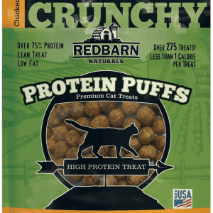 Red barn Protein Puffs for Cats