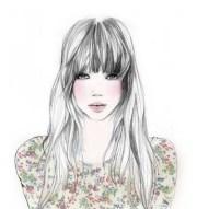 illustration girl 3 seriusan