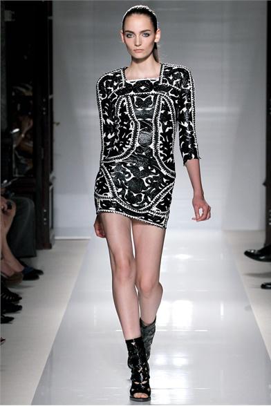 Balmain Spring 2012 Paris Fashion Show