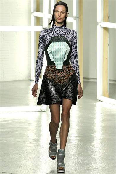 Rodarte New York Spring 2013 Fashion Week Show