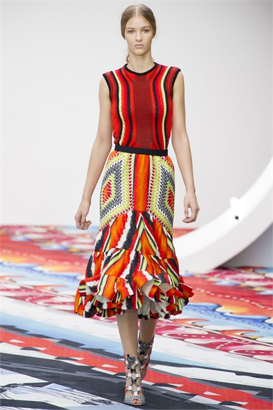 Peter Pilotto Spring 2013 London Fashion Week Show