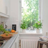 kitchen talk - small space decor