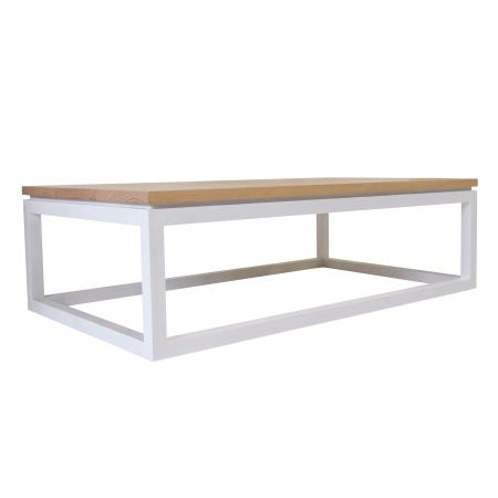 framed scandi timber coffee table