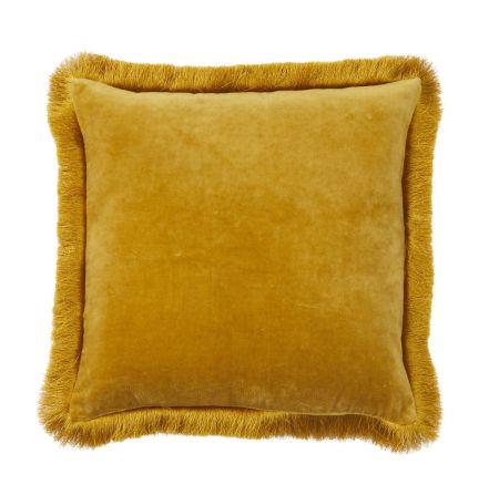 Clarissa Cushion cotton velvet, 45x45cm