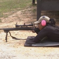 First female sniper makes history in Fulton County