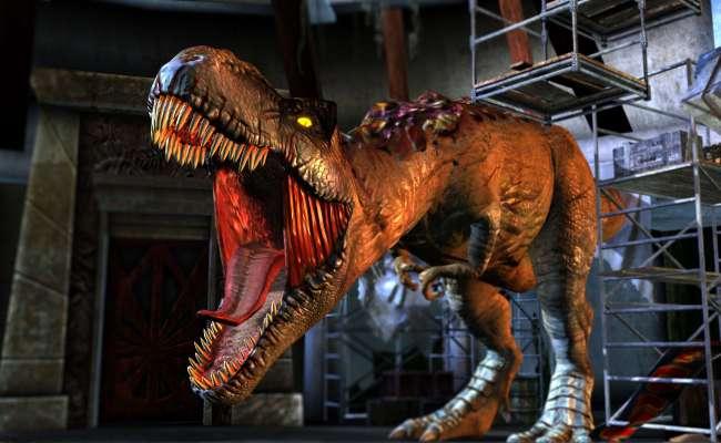 Jurassic Park Arcade Raw Thrills Inc