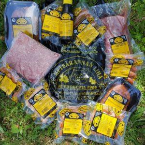 urjala punkalaidun metsärannan liha