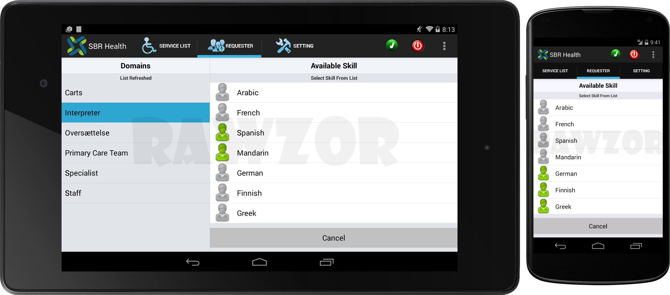 Native Multi Platform App Development - Rawzor