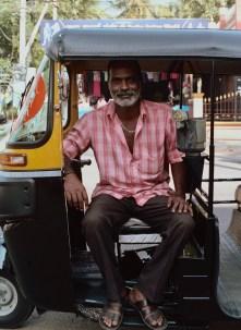 Kumar, a friend and skilled auto rickshaw driver