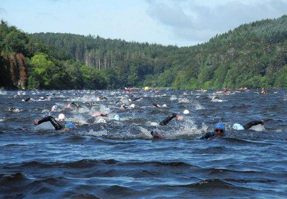 10k Ray Mourne Triathlon Swim- Courtesy of Peader Curran