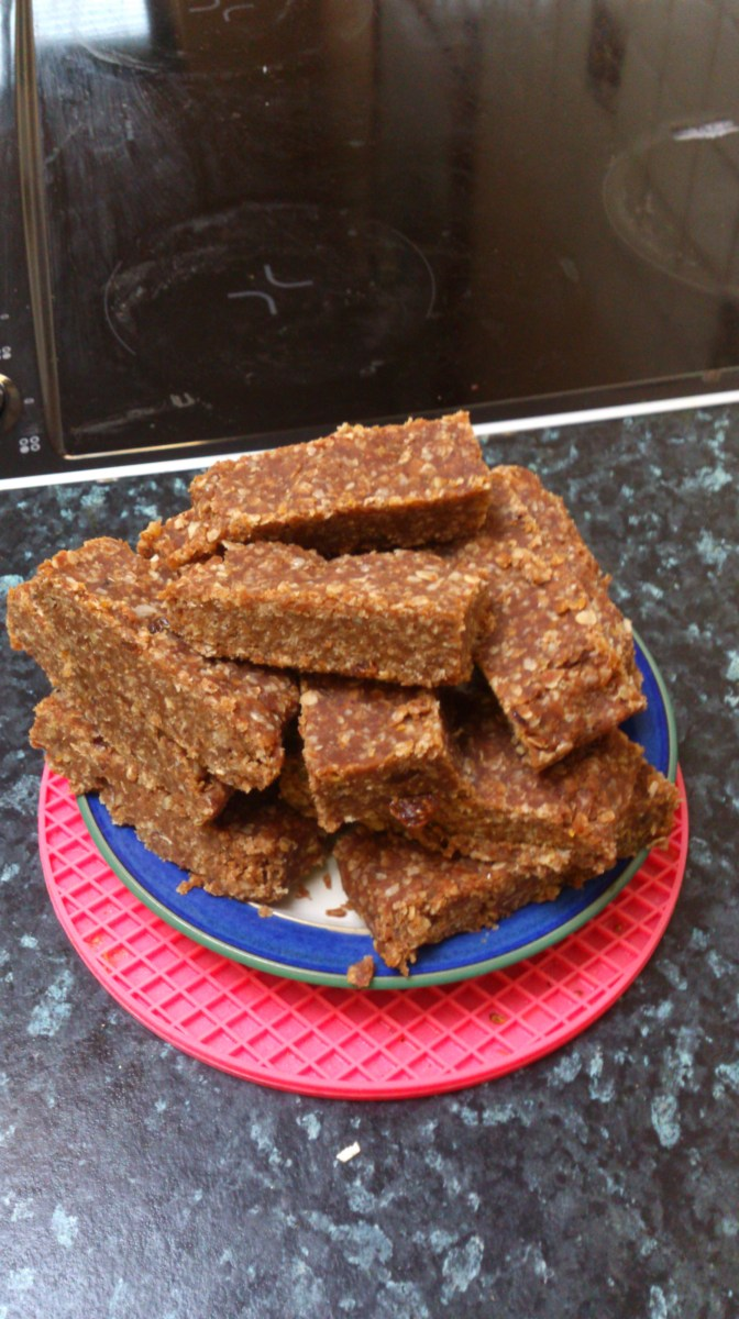 Protein bars - triathlon / running recovery - pic 1