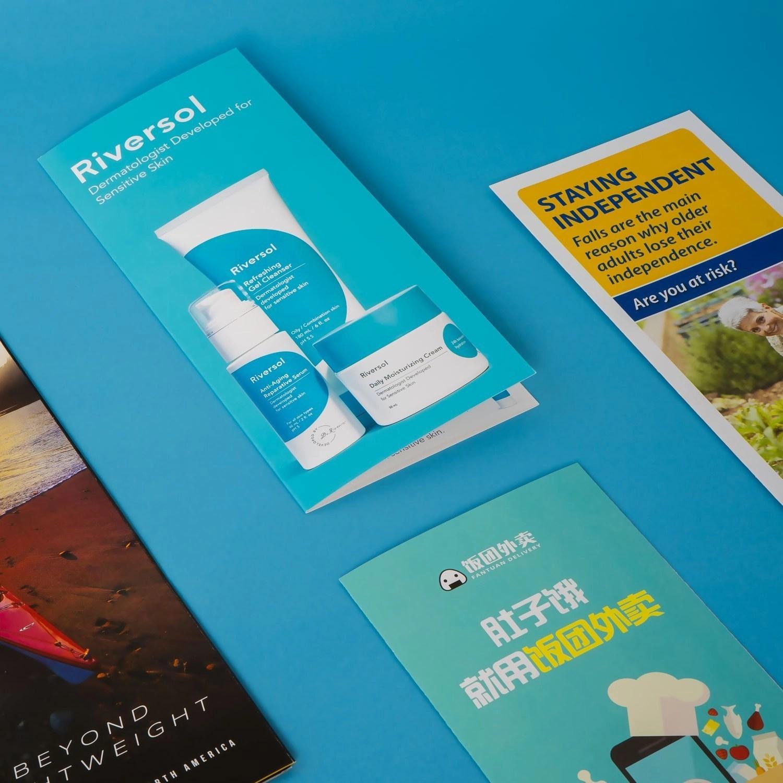 Brochures printed in Red Deer