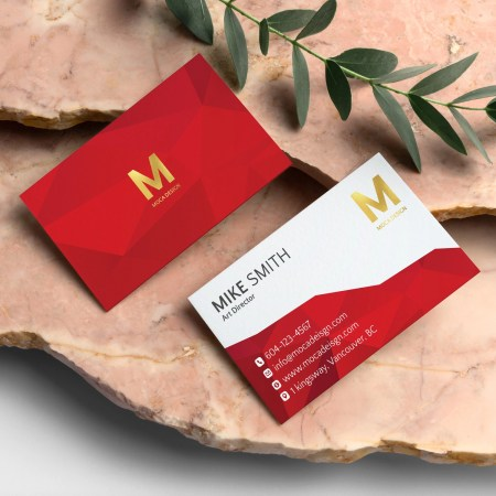 Foil Business Cards
