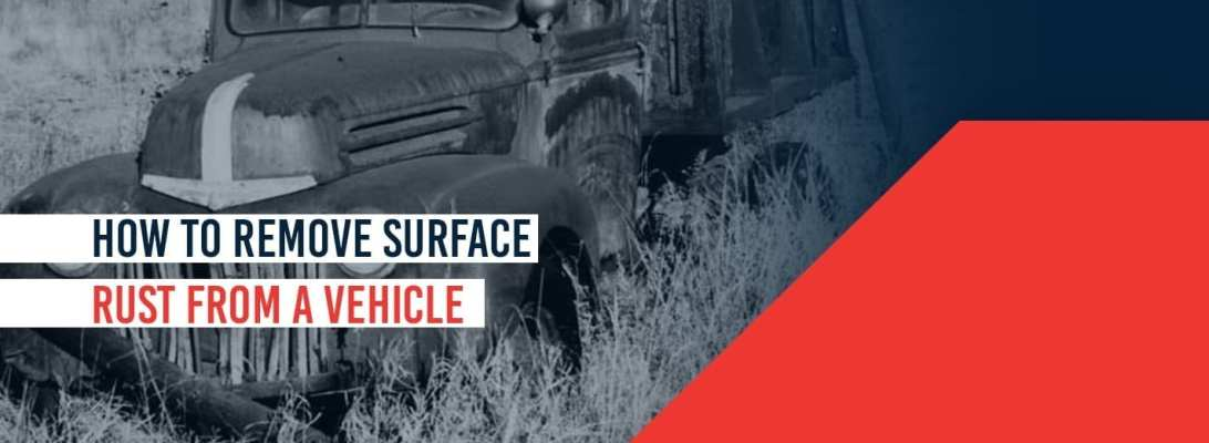 Surface Rust Repair How To Fix Small Rust Spots On You