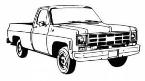 GM Full Size Truck Models by Year Range