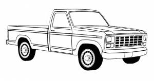 Ford Full Size Trucks by Year Range