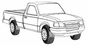 Ford Compact Truck/SUV Models by Year Range
