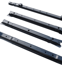 1999 2015 ford super duty pickup bed floor cross sill repair kit for 8 bed 4 center cross sills  [ 1200 x 800 Pixel ]