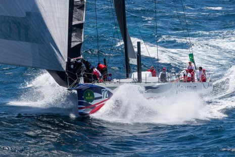 GIACOMO at the start of the 2016 Rolex Sydney to Hobart yacht race 26/12/2016 ph. Andrea Francolini
