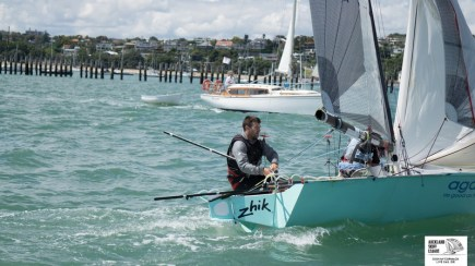 Auckland Champs 12ft skiffs 2