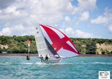 Auckland Champs 12ft skiffs 9