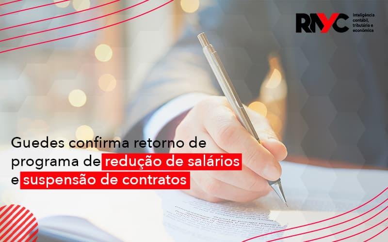 Redução De Salários E Suspensão De Contratos Podem (1) - Contabilidade em Goiânia - GO | Rayc Contabilidade
