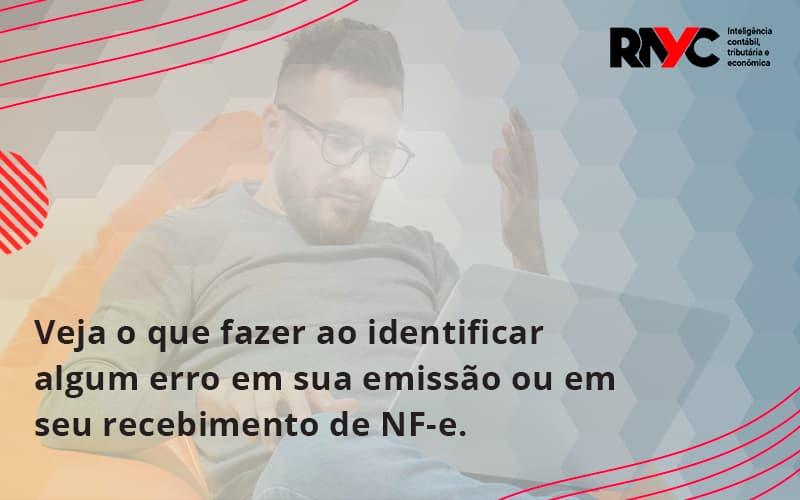 Devolver Ou Recusar Nf E Rayc - Contabilidade Em Goiânia - GO   Rayc Contabilidade