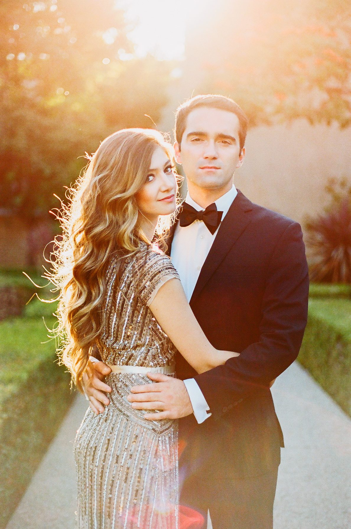 Romantic Engagement Session at Balboa Park Featured on CWD